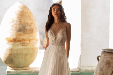 Vestidos de novia Pronovias 2021: deslumbrate con estos diseños