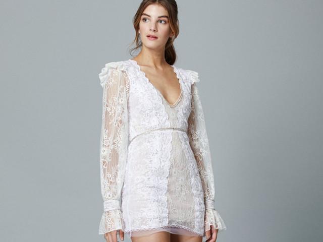 """50 vestidos de novia para el civil para dar el """"sí"""" con mucho estilo"""