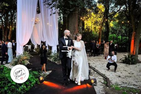 Así fue el casamiento de Abel Pintos y Mora Calabrese: ¡conocé todos los detalles!