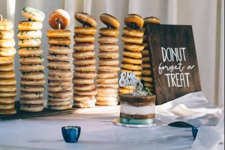 ¿Quieren incluir una barra de donuts en su casamiento? ¡No se pierdan estos consejos!