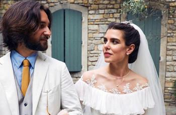 Así fue la segunda (¡y secreta!) boda de Charlotte Casiraghi en el sur de Francia