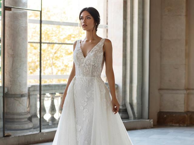 Vestidos de novia convertibles: 15 modelos para un look versátil
