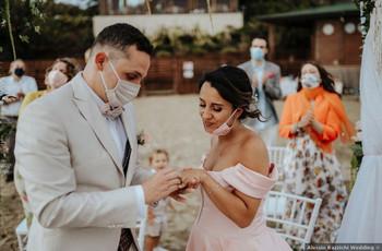 Así son los casamientos en la nueva normalidad de otros países: ¡el amor no se detiene!