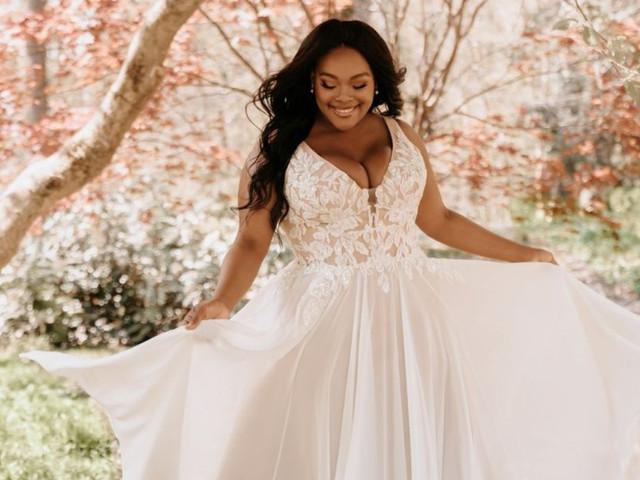Vestidos de novia Allure Bridals 2021: la magia está en los detalles
