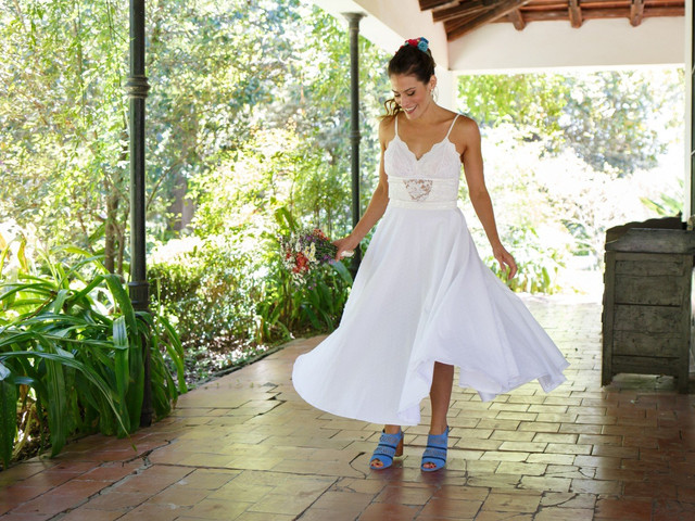 ¿Vestido de novia corto o largo? 7 claves para decidirse