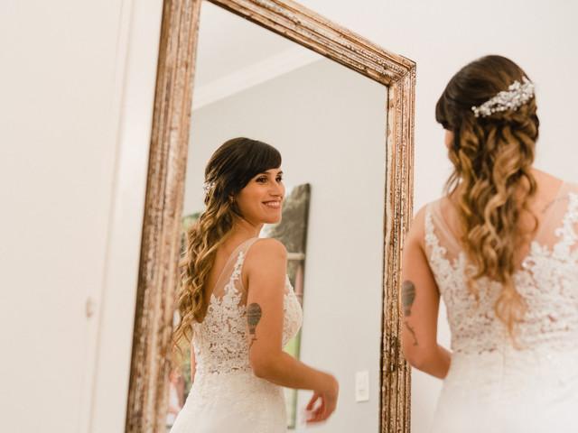 Peinados de novia con ondas, una opción versátil y muy romántica