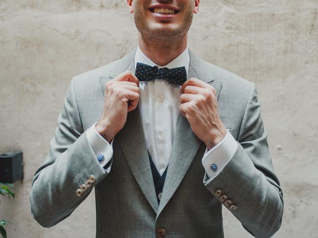 5 tips para elegir la camisa del novio y que combine con el resto del look
