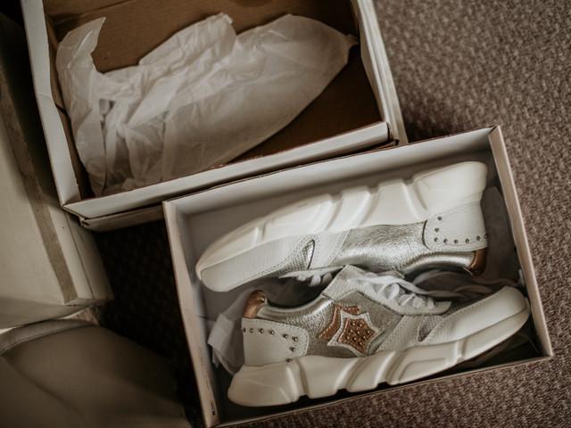 Segundo par de zapatos para la novia: 5 ideas muy cómodas