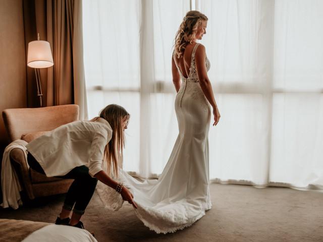 7 consejos para lucir la espalda de tu vestido de novia