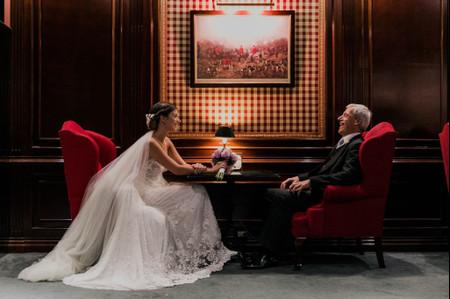 5 formas de hacer participar a tu papá en el casamiento