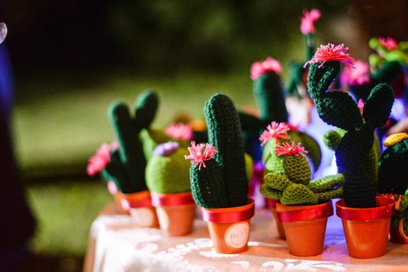 souvenirs casamiento cactus amigurumi