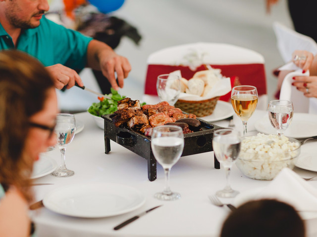5 consejos para ofrecer asado como menú de casamiento