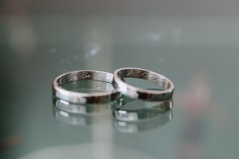 ¿Qué grabar en las alianzas de casamiento? 5 opciones para suspirar de amor