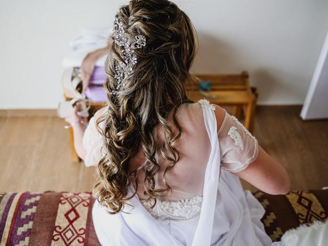 Peinados semirecogidos con ondas o rulos: 20 ideas para tu look de novia