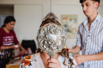 6 cosas que nadie te cuenta (y que tenés que saber) sobre el peinado y maquillaje de novia