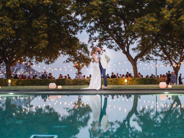 8 ideas para decorar la pileta de un casamiento de verano