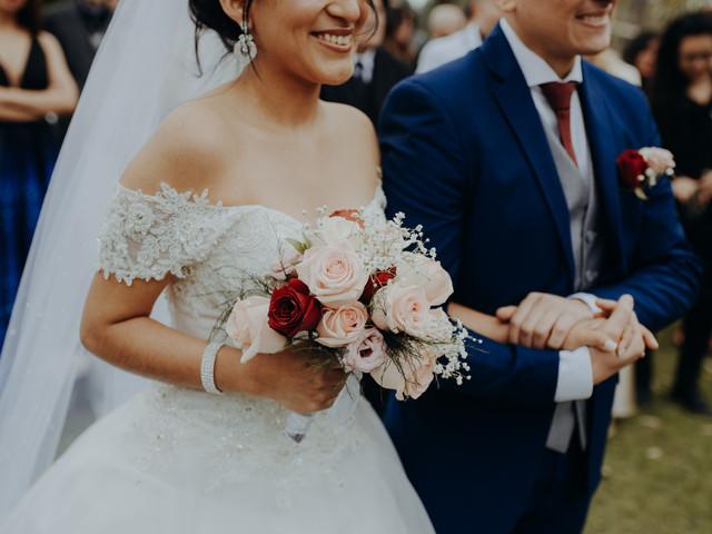¿Qué flores y colores elegir para un ramo de novia de invierno? 5 tips