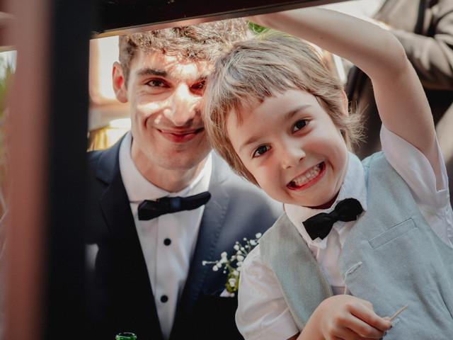 8 consejos para conseguir las mejores fotos con chicos el día del casamiento