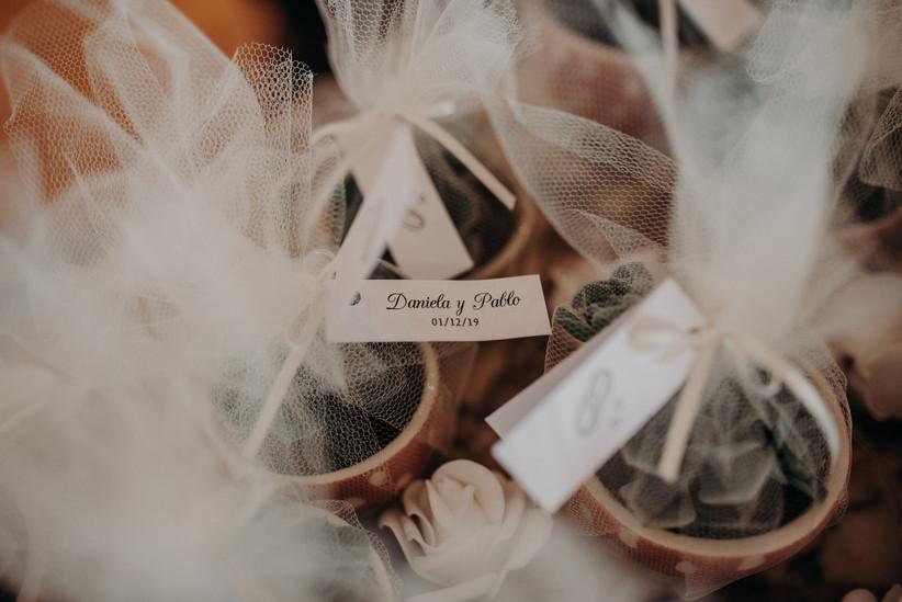 souvenirs casamiento bolsitas tul