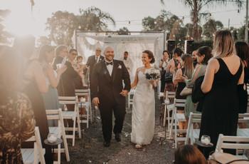 ¿Cómo es el protocolo para un casamiento al aire libre? 6 tips