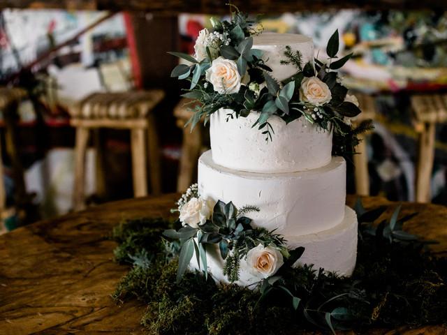 6 estilos de decoración para la torta de casamiento
