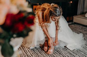7 preguntas importantes antes de comprar los zapatos de novia