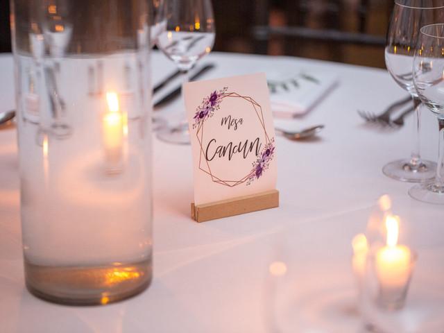 Los nombres de las mesas del casamiento: 7 alternativas originales