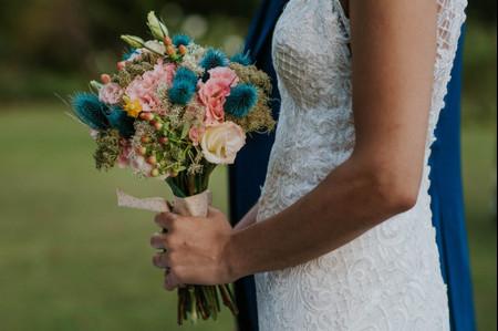 30 ramos de novia en tonos pasteles, delicadeza para tu look nupcial