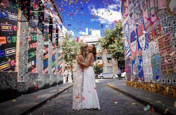 El casamiento de Flor y Ana: una boda relajada y al aire libre para inspirarse