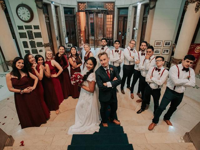 ¿Cuál es el rol de los best men en el casamiento?