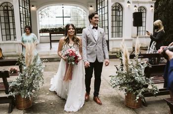 La boda de Isabela y Ezequiel: una ceremonia en medio de la magia de la naturaleza