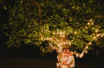 Decoren su casamiento con una línea del tiempo de su historia en fotos