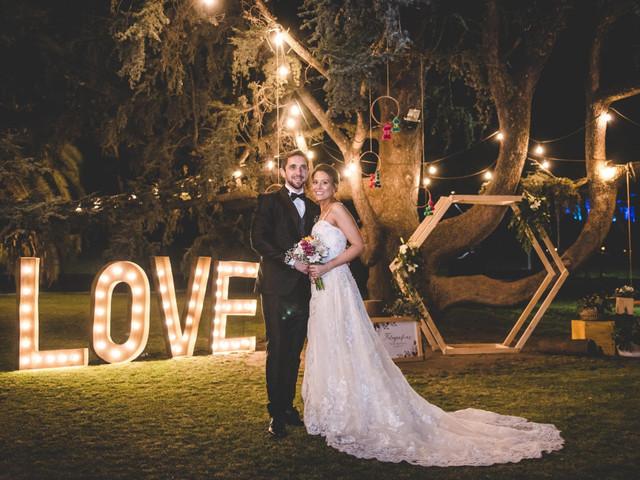 7 tipos de decoración colgante para el casamiento