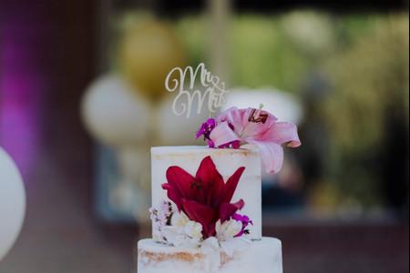 50 tortas de casamiento originales para endulzar su gran día