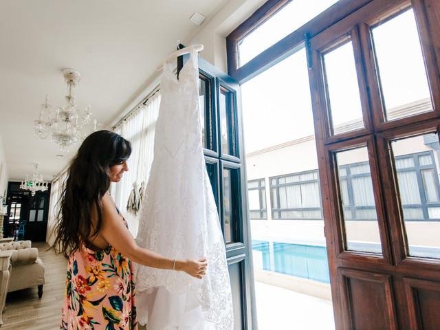 10 cosas que debés hacer para cuidar tu vestido de novia hasta el día del casamiento