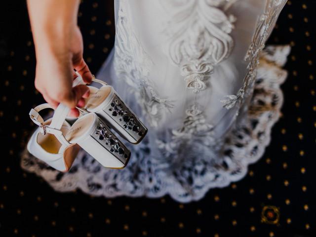 6 estilos para los zapatos de novia, ¿cuál es el tuyo?