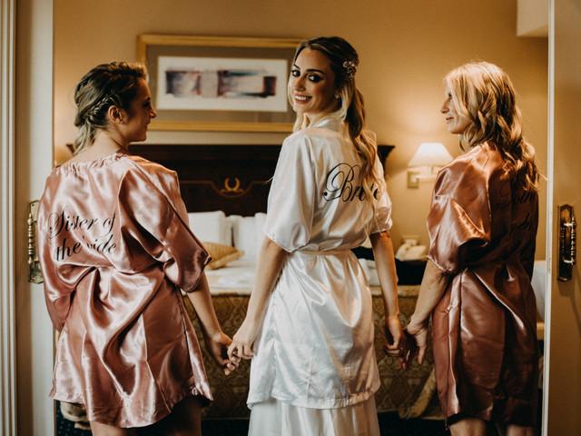 10 mandamientos que toda novia debe seguir la mañana del casamiento