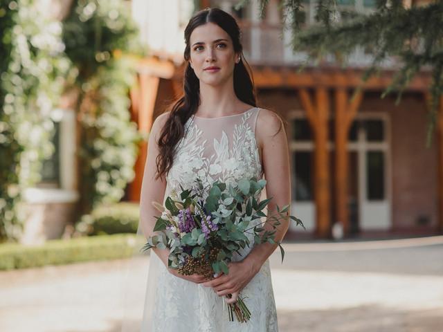 ¿Cómo elegir el tamaño para el ramo de novia?