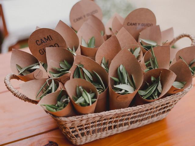 5 razones para sumar olivo a detalles de su casamiento