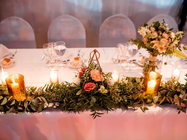 7 formas de ahorrar en las flores para el casamiento