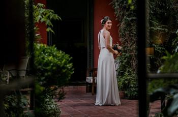 Vestidos de novia sencillos: propuestas singulares