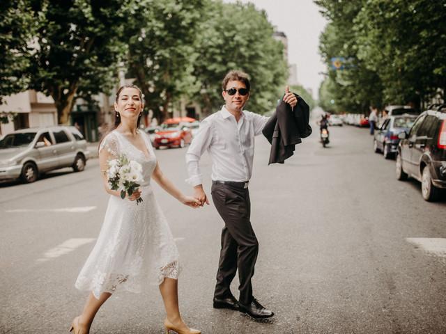 5 cosas que debés saber para usar un vestido de novia corto, ¡animate!