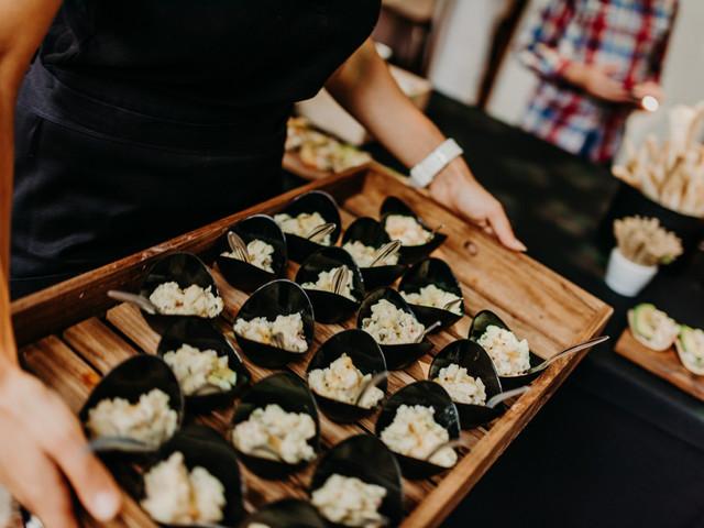 6 consejos para ofrecer un menú tipo buffet en el casamiento