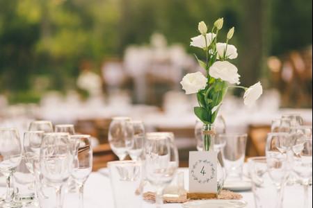Ideas para un casamiento estilo minimalista: cuando menos es más