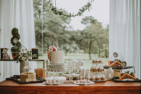 6 ideas para decorar la mesa de la torta del casamiento