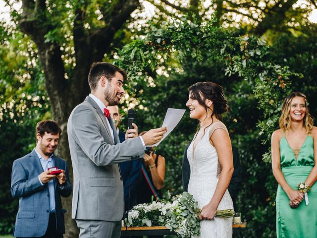 6 formas muy emotivas de contar su historia de amor en el casamiento