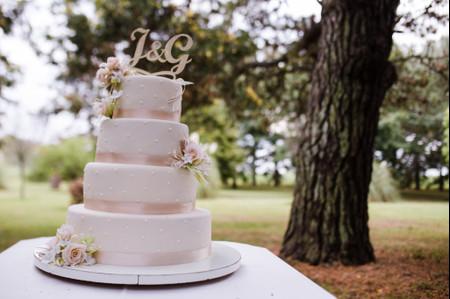Tortas de casamiento sencillas: 50 propuestas únicas