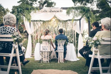 Decoración con macramé: 6 ideas para casamientos estilo boho