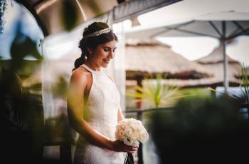 10 tipos de tocados para 10 estilos de novia