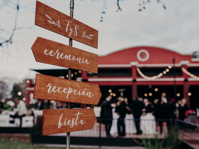 Las 50 ideas más originales para decorar su casamiento con carteles